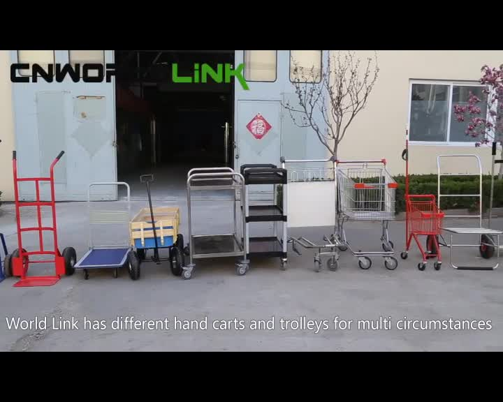 Hand Tool Cart Collapsible Logistics Folding Platform Hand Truck