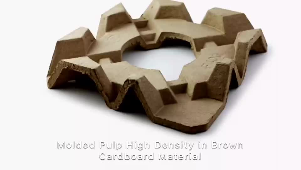 Sustainable Molded Pulp Paper Packaging