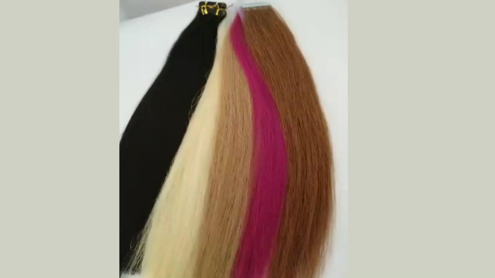 Discount Sale In Guangzhou Fashionable Human Hair Keratin Tape Hair