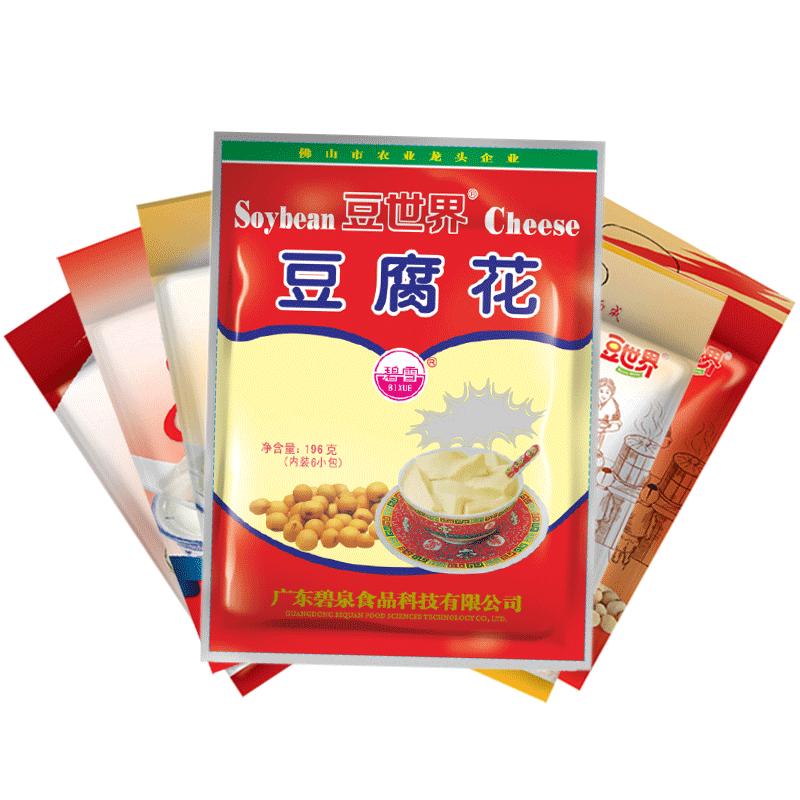 豆原味豆腐花速食营养早餐懒人食品豆腐脑粉196g*1包6小袋