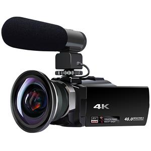 数码高清旅游婚庆4k专业dv录像机