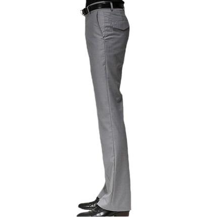 男春夏修身韩版直筒西裤小喇叭裤