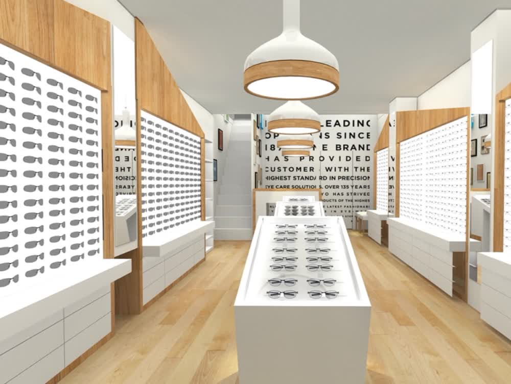 0131eee509 Retail Sunglasses Store Interior Design High Quality Spectacles Optical  Shop Furniture