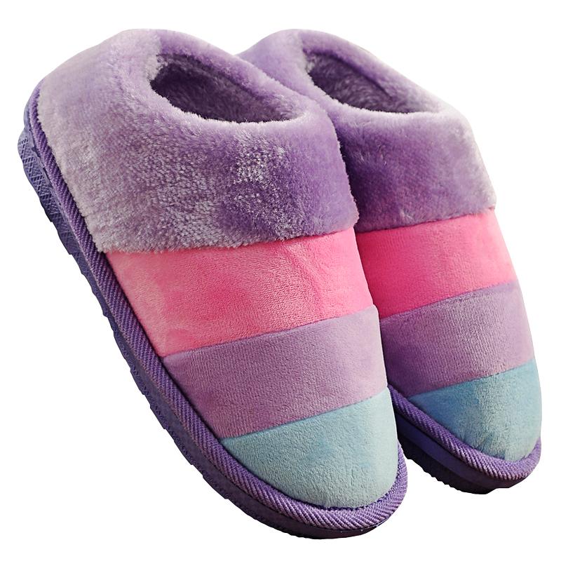 春秋拖鞋男女士居家防滑厚底毛拖鞋质量如何