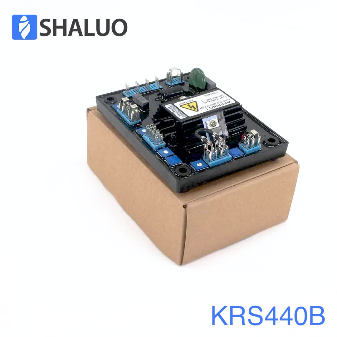 Krs440b Three Phase Diesel Generator Set Alternator Avr Curcuit 3 Voltage Regulator Wiring Diagram Electronic Board Automatic Stabilizers