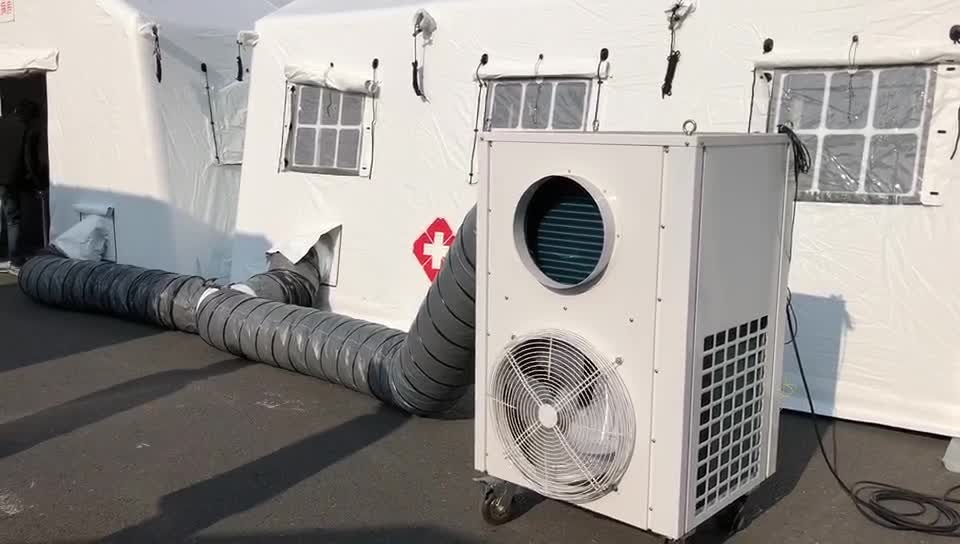 portable camp air conditioner  HVAC solutions for military tent sale