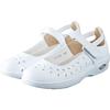 派菲尔气垫护士鞋白色平底女凉鞋价格多少好不好用