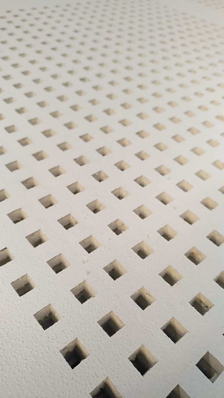 12mm Hole Perforated Pvc Gypsum Ceiling Tiles For Thailandindia