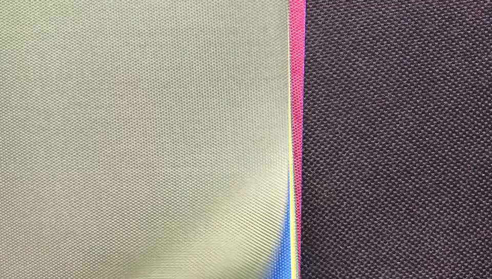 100% Polyester Oxford 420d 600d Material Textile , PVC/PU Coated School Bag Fabric/