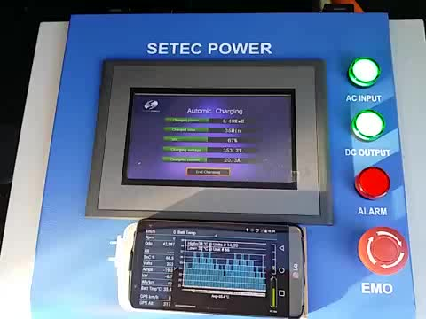 10kw mobile chademo plug SAE IEC ccs COMBO adapter DC electric car EV charging station from Setec Power approved by CE