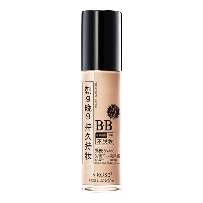 sirose白皙摇bb保湿持久祼妆bb霜评价如何
