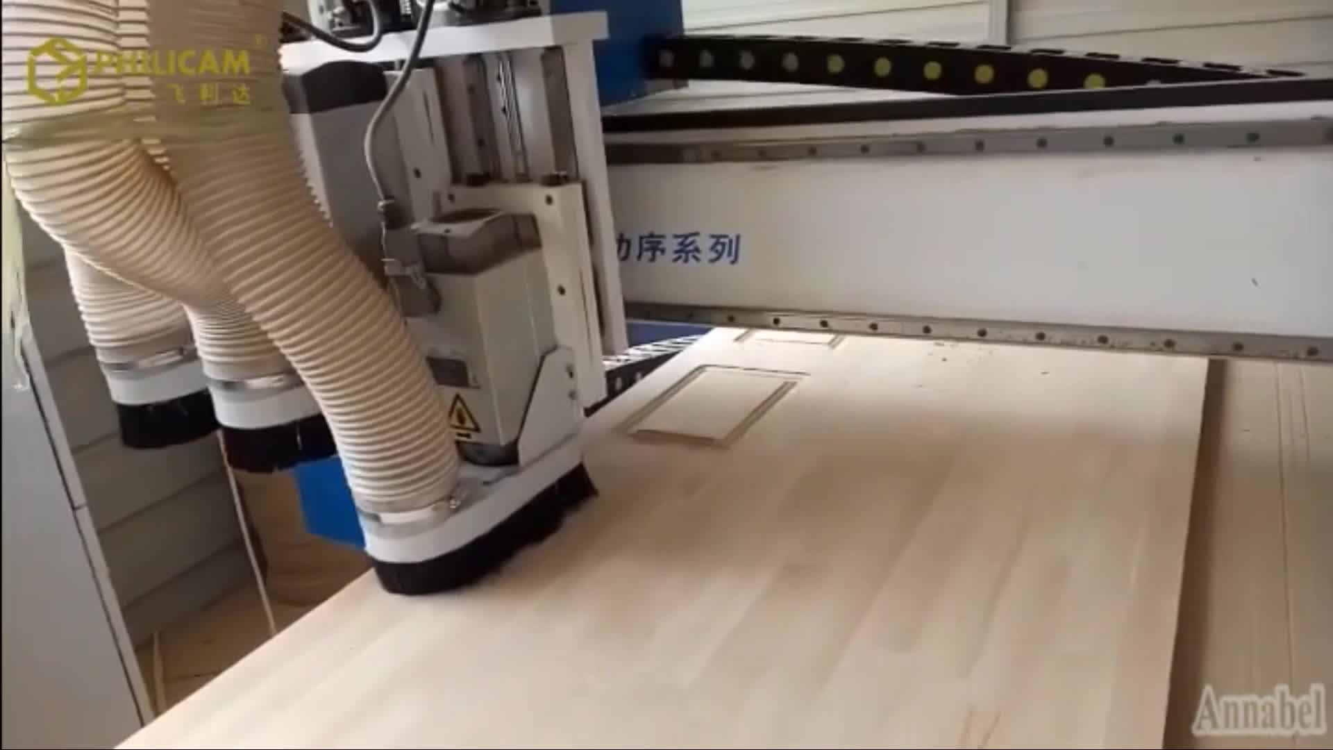 2017 Software Programs Wood Working CNC Router Machine For Cabinet Doors