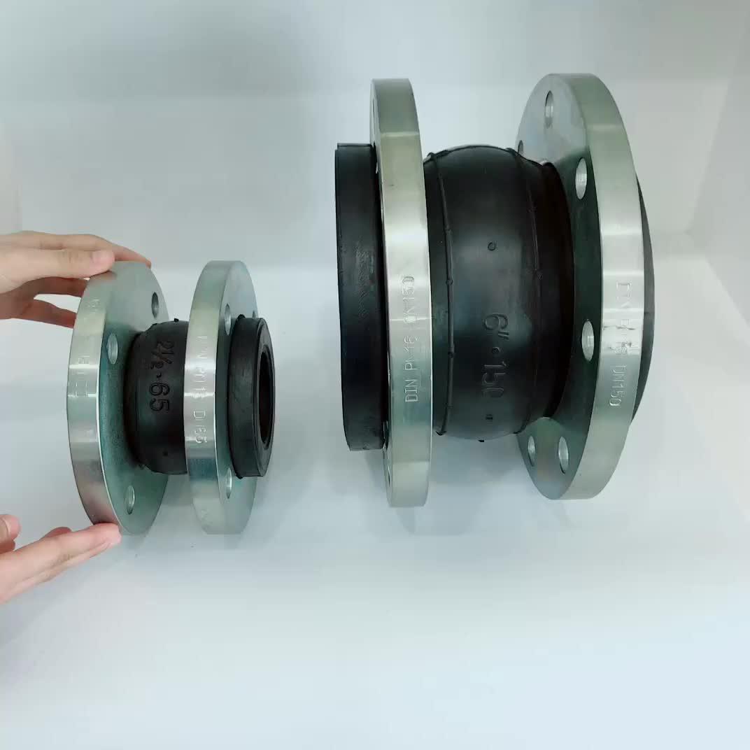 Huayuan tubo raccordi a compressione di gomma flessibile di espansione comune prezzo