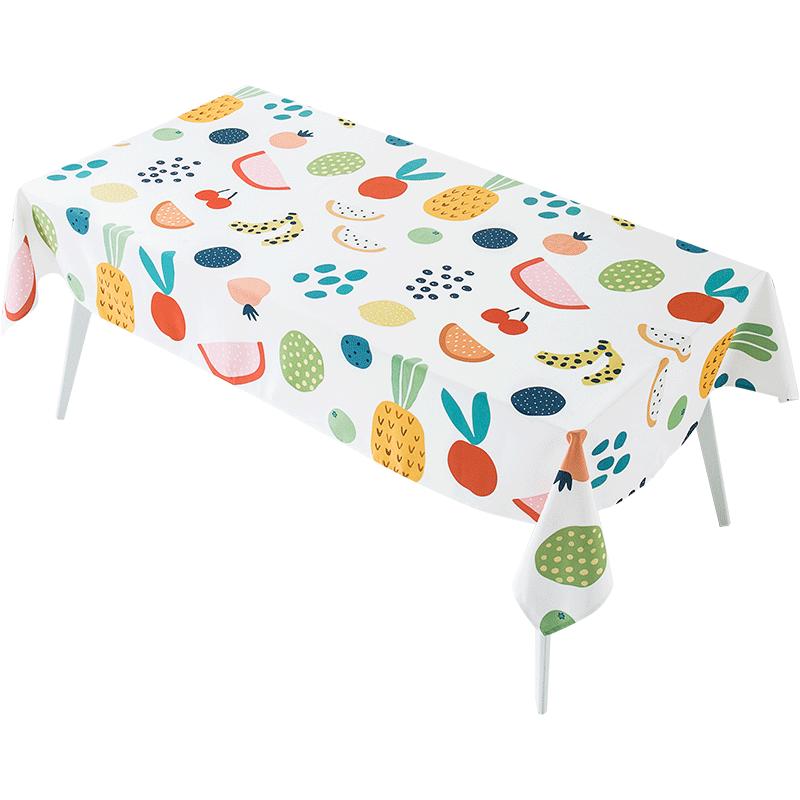 【可领五张卷】新款桌布防水防油清新加厚