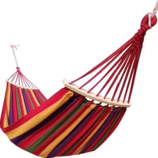 吊牀户外成人鞦韆室內家用睡覺單雙人加厚帆布學生寢室宿舍防側翻