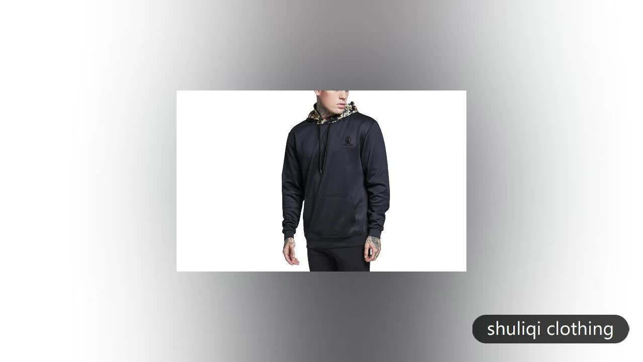 Relirabel quality wholesale hoodies sweaters custom jogging mens clothing China supplier SLQ-S-012