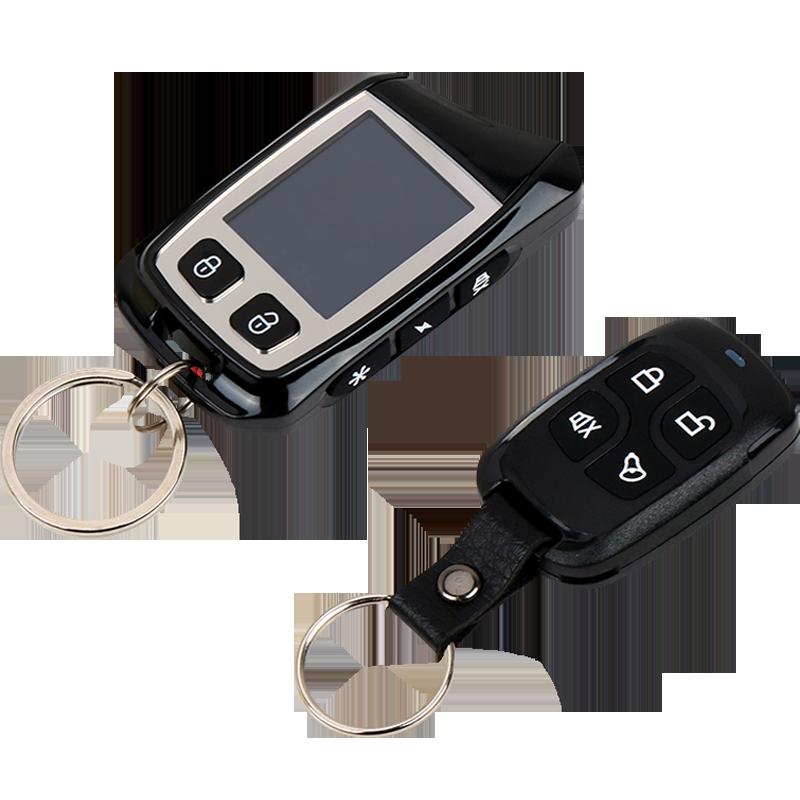 卡仕风一键启动汽车防盗器报警器回传远程遥控启动双向汽车报警