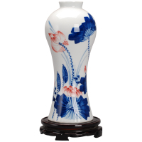 景德镇现代手绘青花瓷器陶瓷花瓶评价好不好