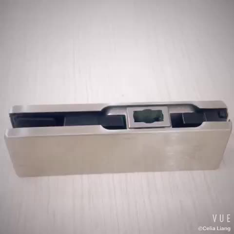 V-500 Stainless steel glass door patch fitting