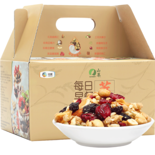 中粮山萃每日早餐水果混合坚果麦片