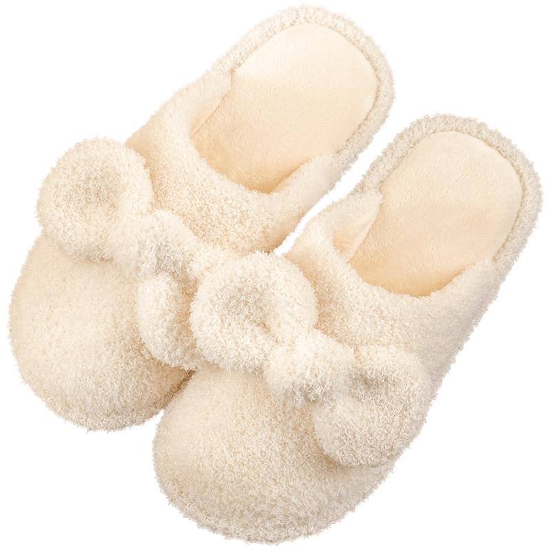 毛绒棉拖鞋女家居可爱情侣秋冬室内好不好