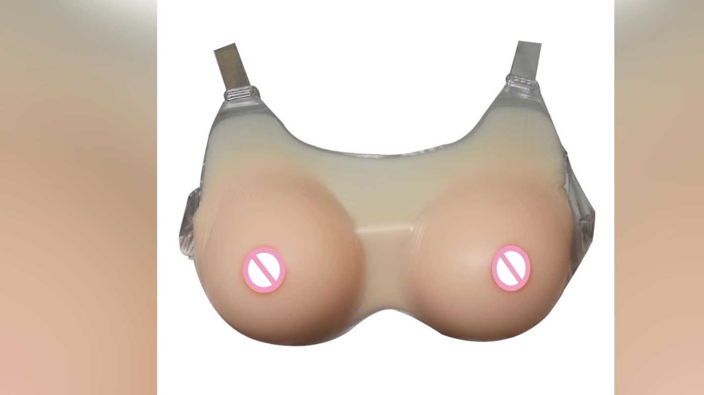 1pcs/2pcs Free Shipping Fake Silicone Boobs for Crossdresser New Design