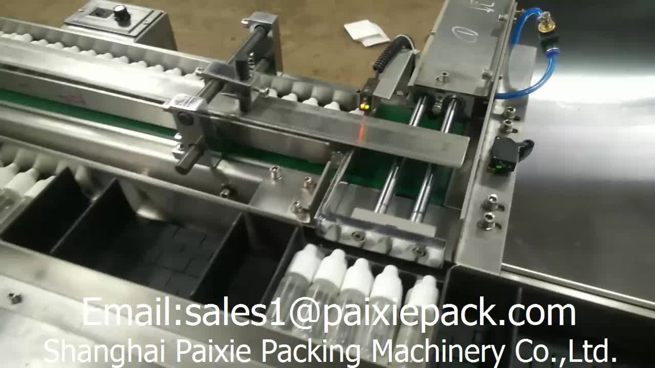 China supplier automatic cardboard boxing machine connected with eliquid filling machine line in factory price