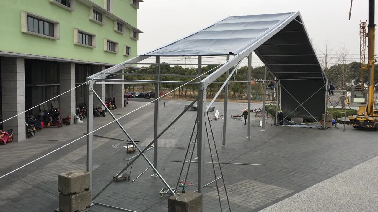 GS09 storage tent and marquees industrial