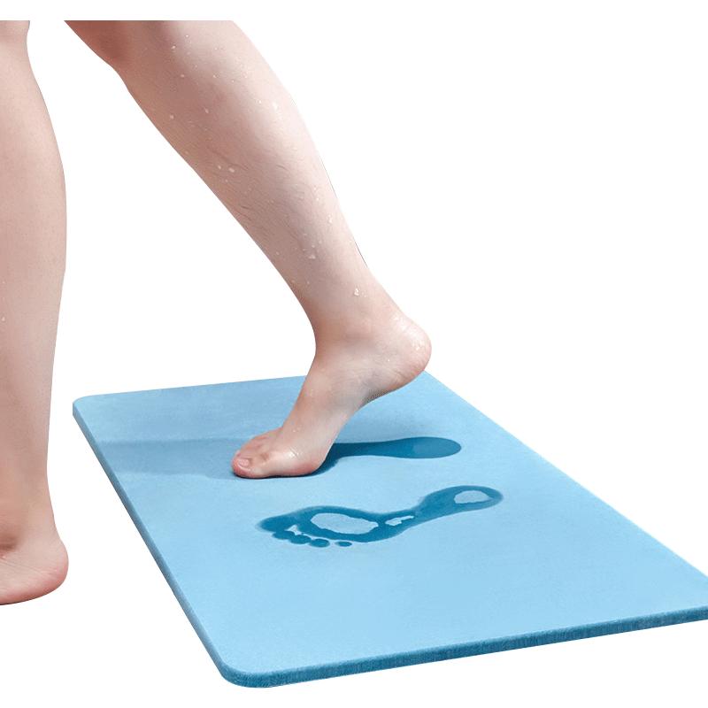天然硅藻泥脚垫浴室防滑垫硅藻土吸水速干卫浴卫生间门口地垫家用