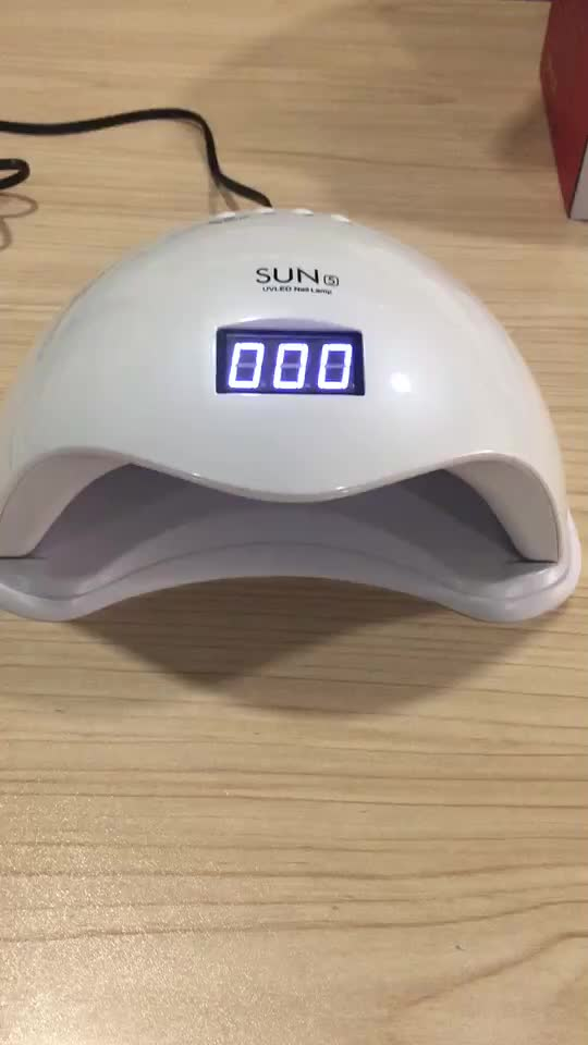 China Best Price SUN5 Nail LED Lamp Fast Drying Nail Gels 48W Nail LED Lamp 365+ 405nm with CE and ROSH