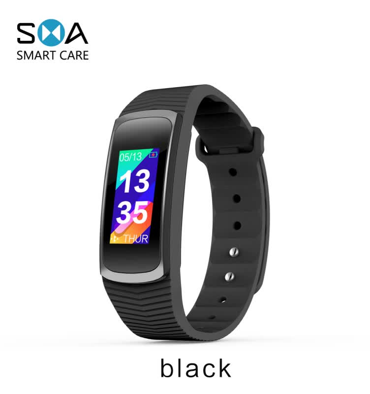 Original SMA-B3 Blood pressure Smart band Fitness Tracker IP68 Waterproof for heath music control