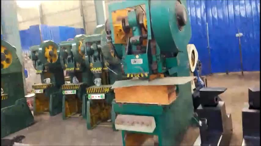10 ton mechanical power press for punching hole