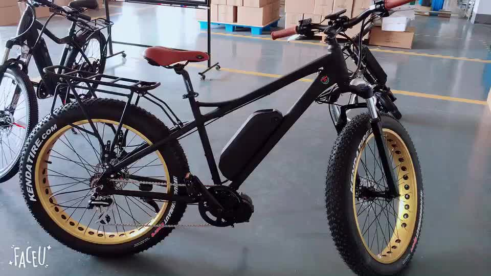 FR26A 1000W snow e-bike with fat tire hot sale