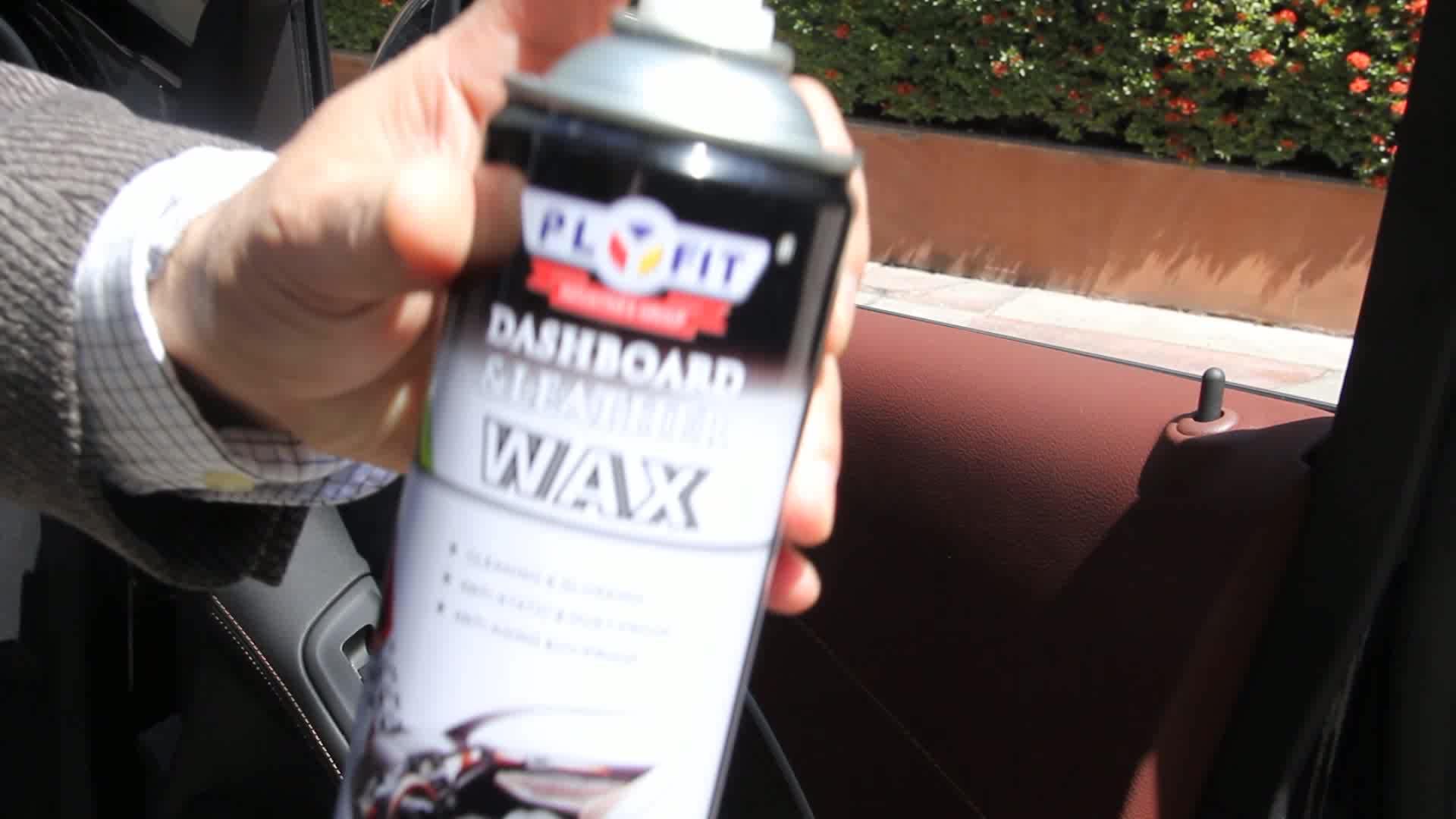 Car Dashboard Polish Aerosol Spray Wax