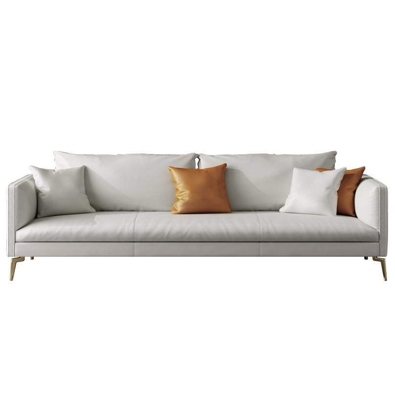 简约现代轻奢头层牛皮客厅真皮沙发评价如何