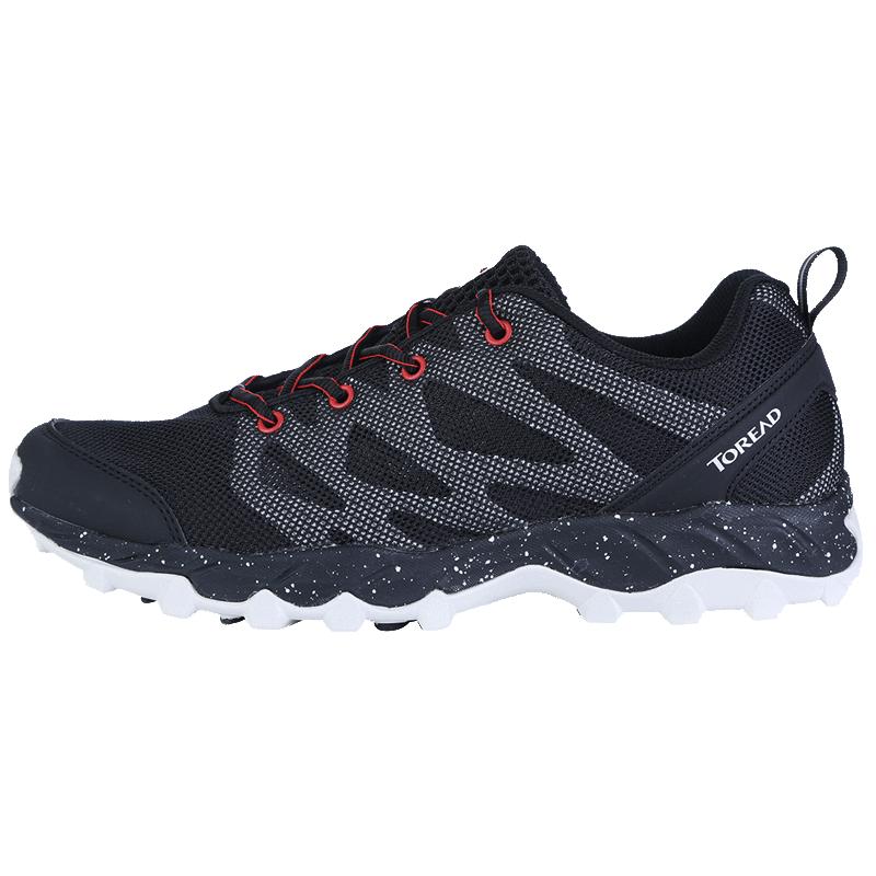 探路者春夏男女轻便透气耐磨防滑网布薄运动休闲户外徒步鞋登山鞋