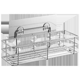 双庆吸盘式不锈钢卫生间壁挂架子