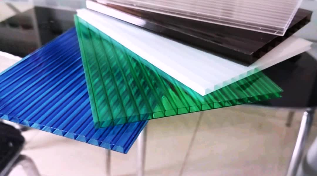 Lexan Roofing Material : Polycarbonate hollow sheet pc roofing panels plastic