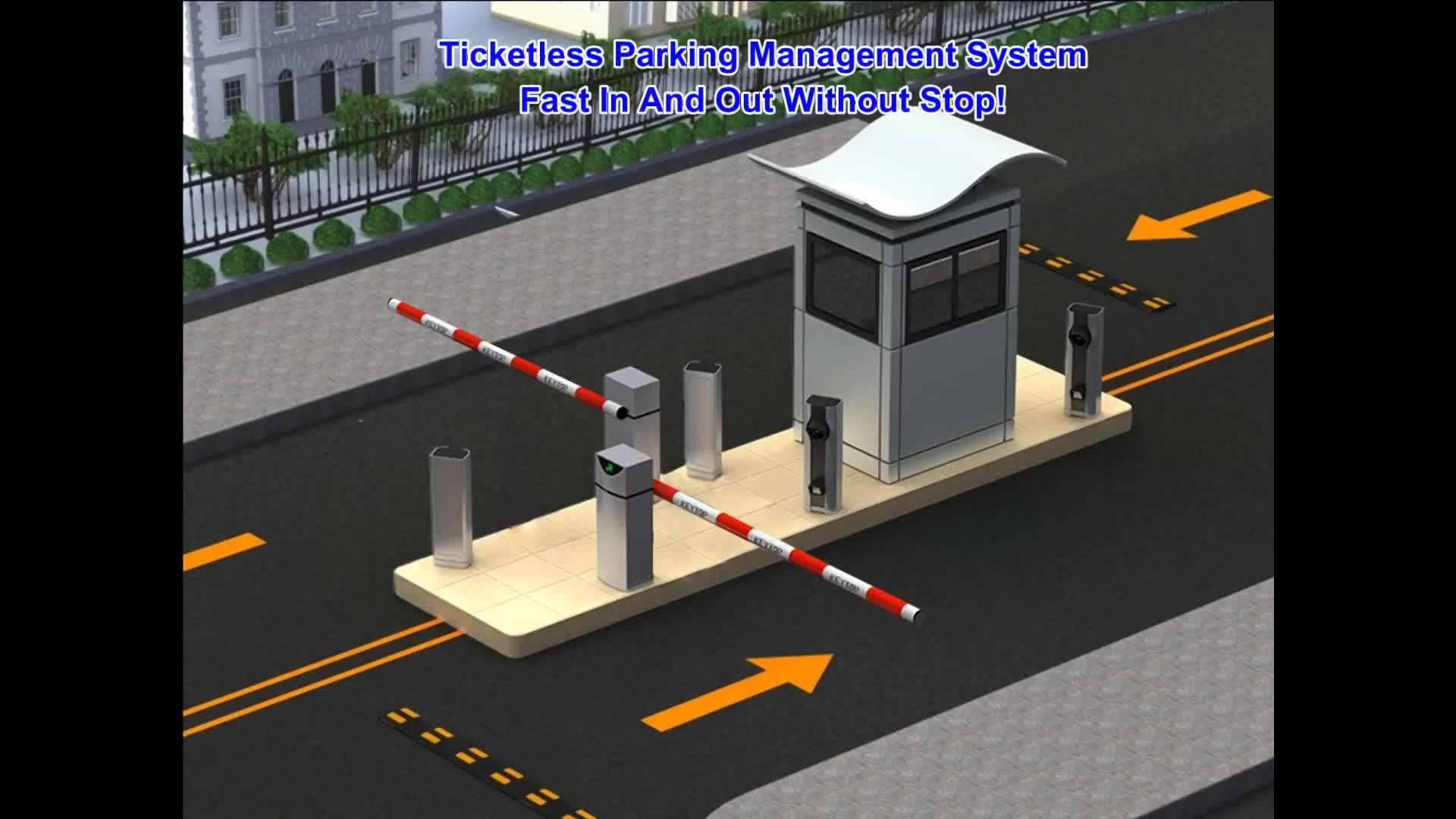 KEYTOP Fast-speed Automatic Car Parking Barrier Boom