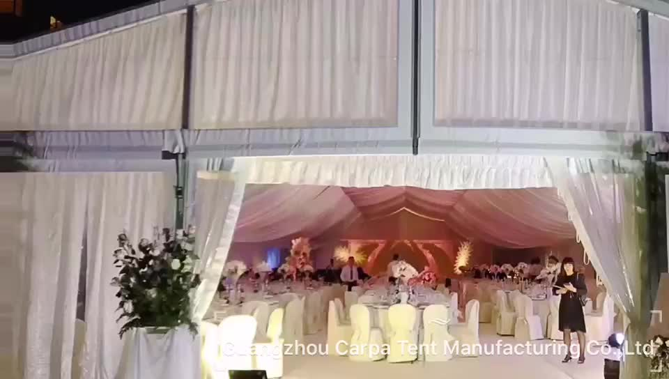 Luxury Wedding Indoor: Hot Sale Luxury Decoration Lining Indoor Wedding Tents