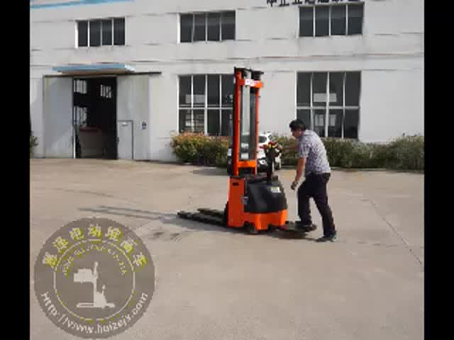 Lifing Height 1.6m to 5.2M CE High Quality Pallet Stacker