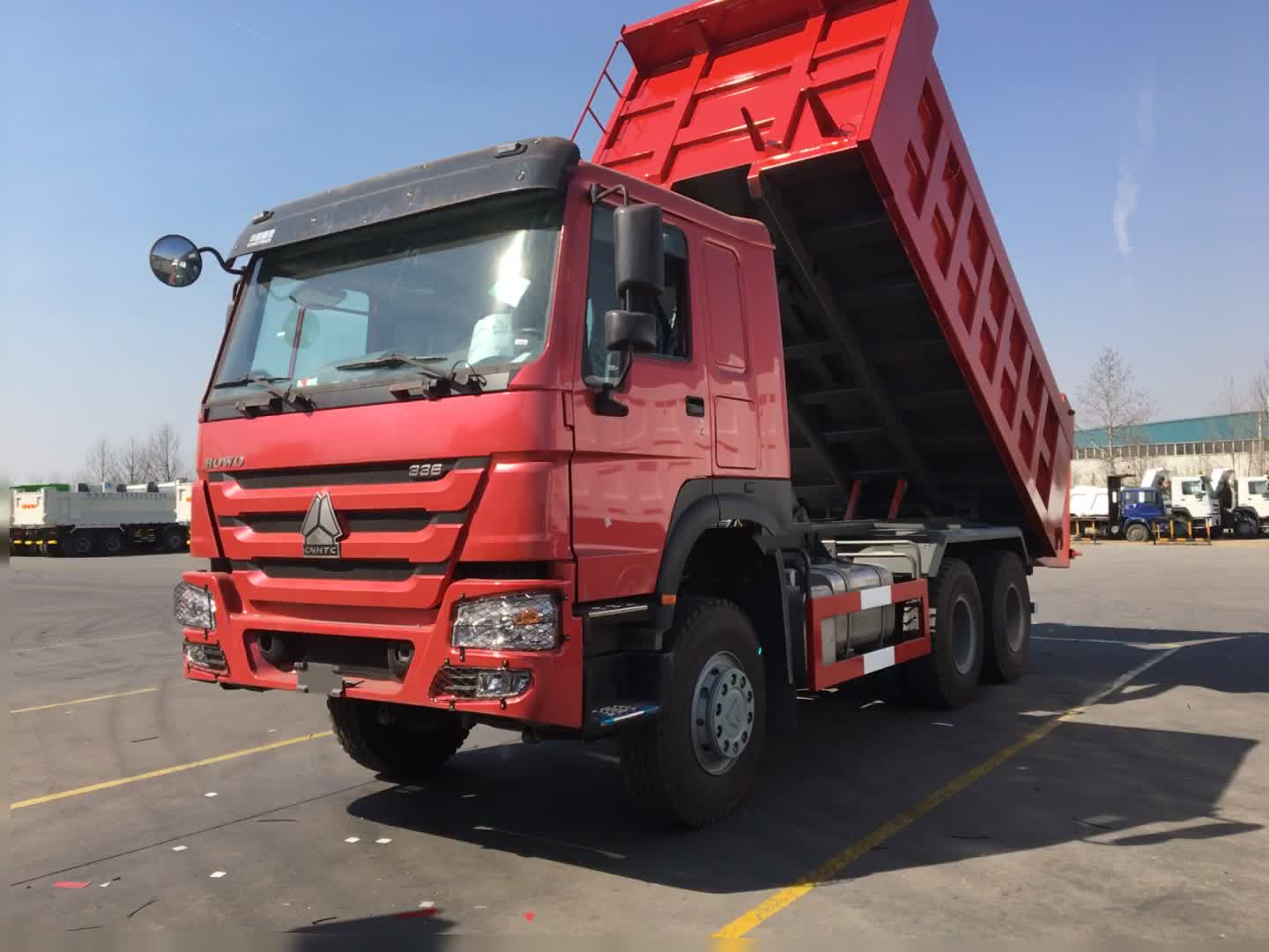 Factory price SINOTRUK HOWO 6X4 30 Tons DUMP TRUCK for