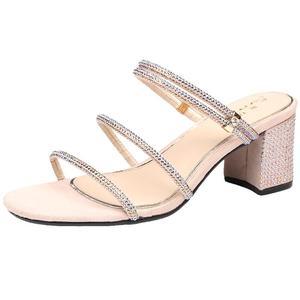 2021年新款夏季仙女风时装两穿凉鞋