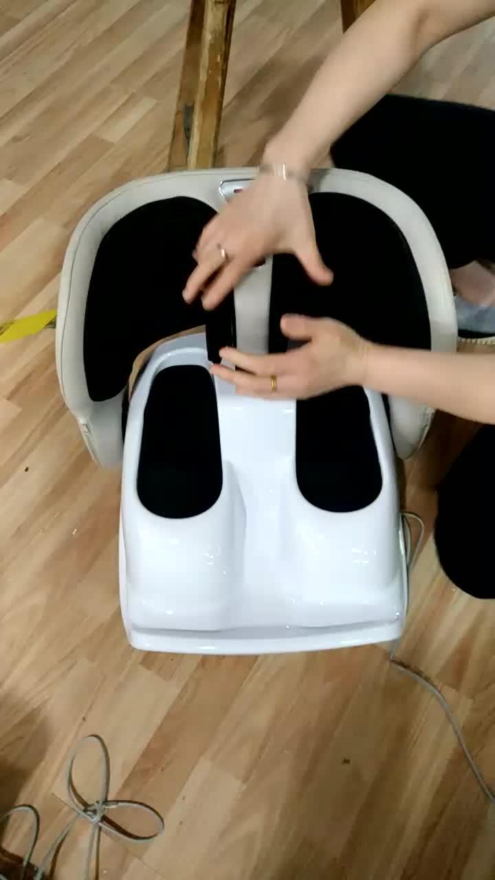 Nuovo disegno Gamba Beatication impulso elettronico shiatsu foot spa massaggiatore come visto in tv