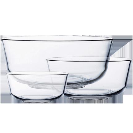 ocean进口家用耐热透明大号玻璃碗