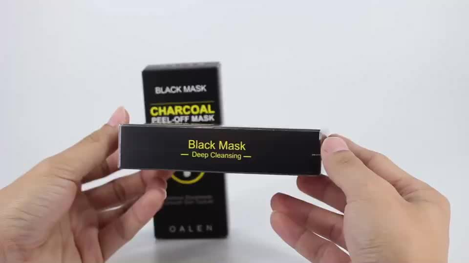 In Stock Bamboo Peel Off Anti Blackheads Face Mask Charcoal Mask