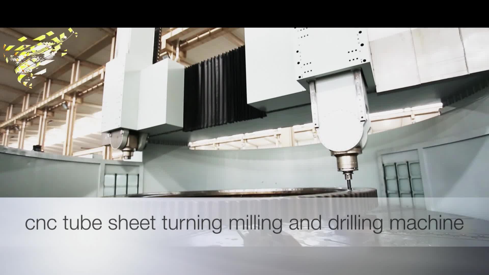 Grote schaal cnc mill en turn cnc machine voor frezen en draaien