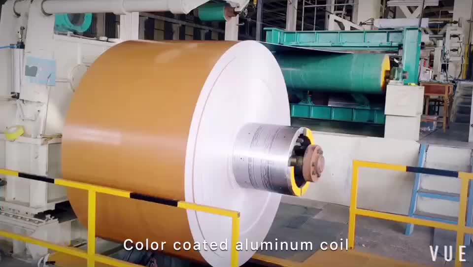 Ac Pe Pvdf Feve Paint Colorful Coated Aluminum Coil For