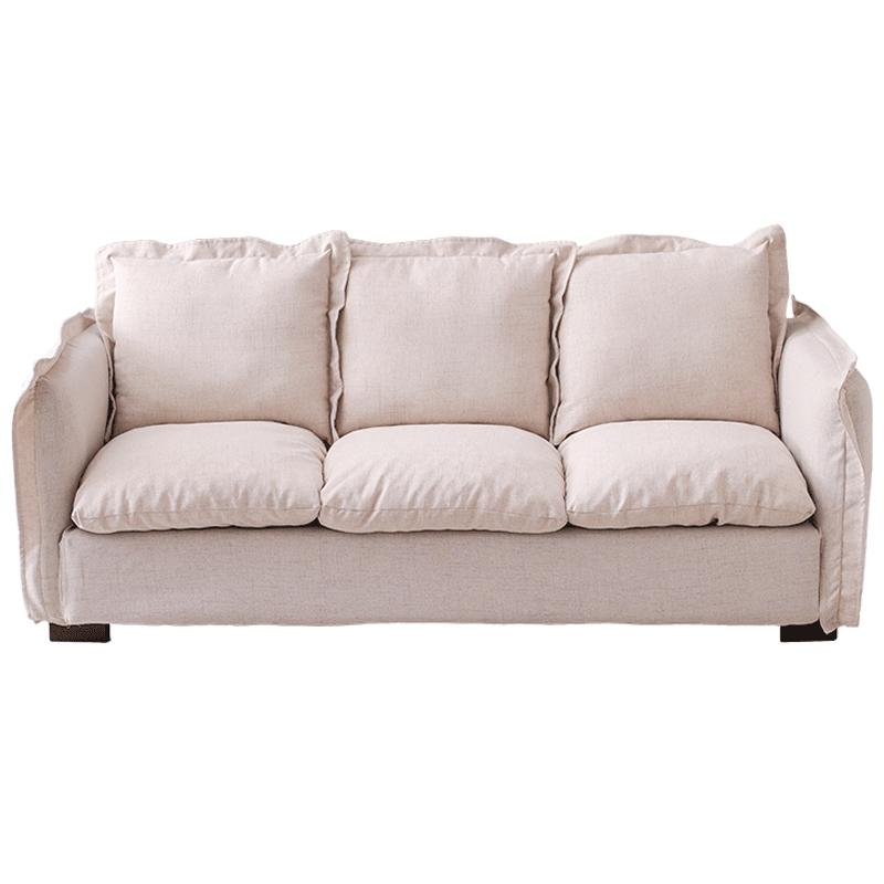 北欧简约现代乳胶布艺客厅卧室沙发好用吗