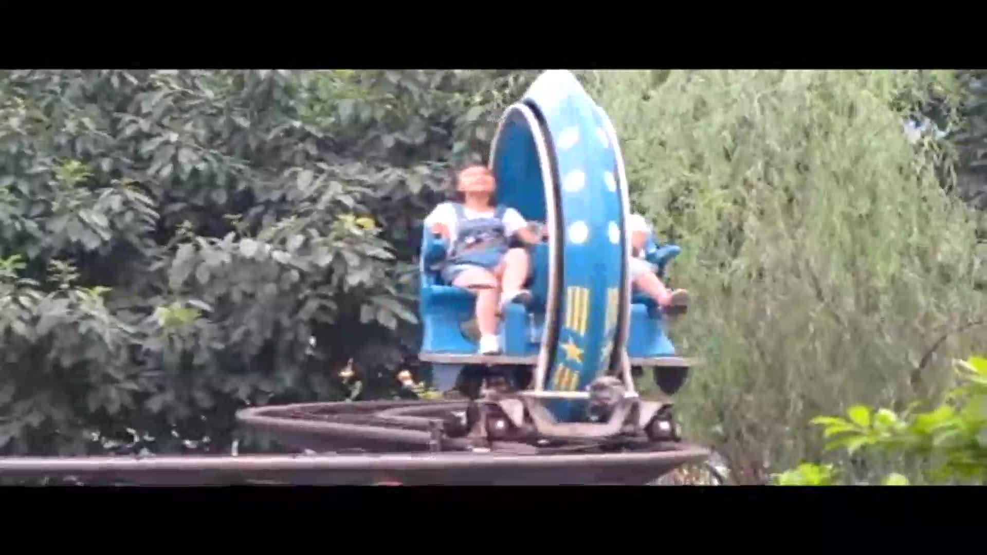 Spielplatz Vergnügungspark Ausrüstung Orbit Reitet fahrrad stick zug
